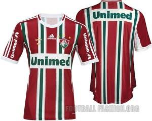 Fluminense FC adidas 2012 Home and Away Football Kits / Soccer Jerseys / Camisas