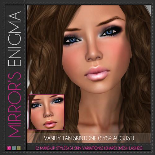 Vanity Tan (SYSP August)