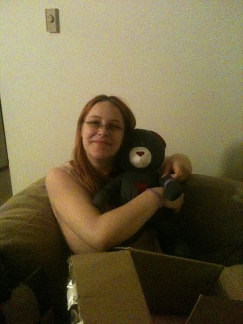 Kathleen and Her Daddy Bear