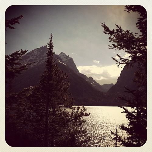 Jenny Lake Grand Teton Nat'l Park by stitchoutsidetheditch