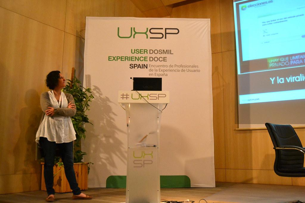 Mónica Zapata en el UxSpain