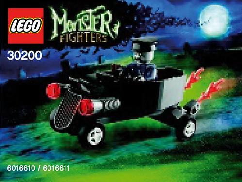 30200 Zombie chauffeur coffin car