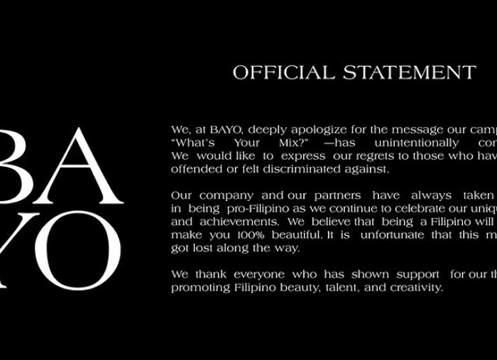 Bayo Official Statement