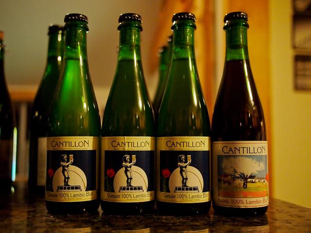 Cantillon Gueuze 100% Lambic-Bio & Kriek 100% Lambic