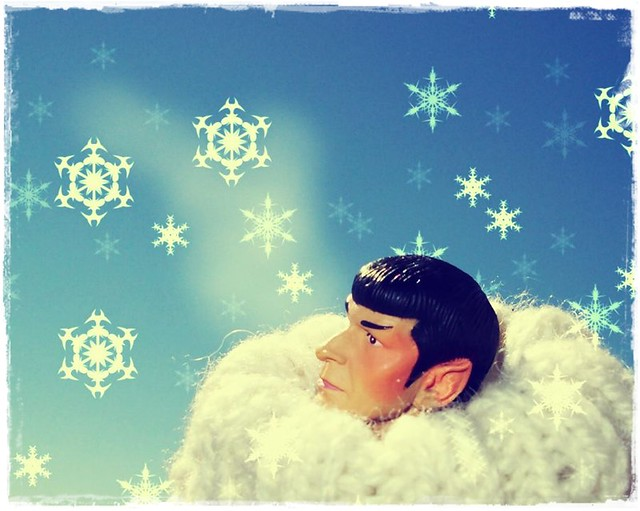 Spock in Arctic