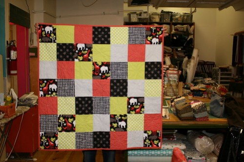 Square Patchwork Quilt - Done!