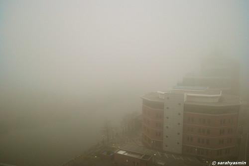 fog in manchester