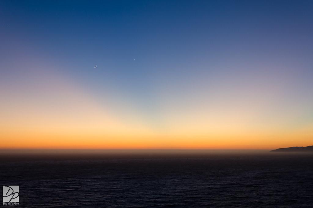 Twilight at Big Sur