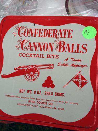 Confederate Cannon Balls
