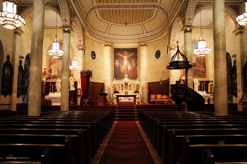Inside of St. Francis Xavier