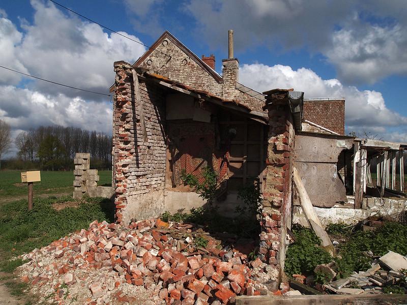Extension en ruine