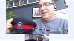 Constable Scott Mills talks about 2012 Ceremony of Remembrance Ontario Police Memorial - pix 1