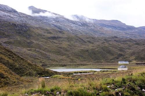 A896, western end of Loch Clair