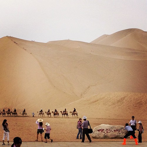 Keeping it Real in the Desert in China