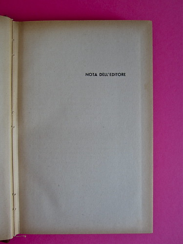 Gore Vidal, La città perversa, Elmo editore 1949. Pag. 5 (part.), 1