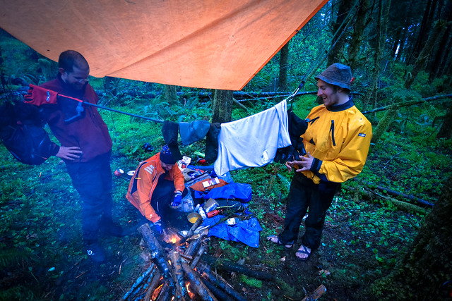 Rainforest damp-camp
