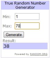 felt giveaway winner