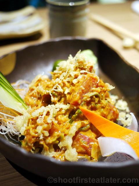 spicy tuna sashimi P330