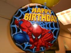 Spiderman Balloon
