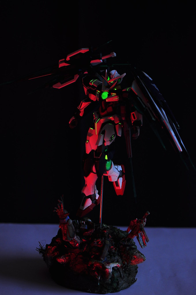 "MG OOQ FS red lighting with glow ""Trans Am!"""