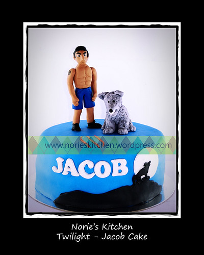 Norie's Kitchen - Twilight - Jacob Cake by Norie's Kitchen