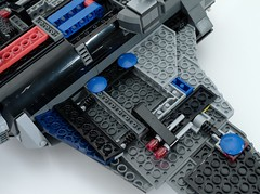 6869 Quinjet Under Wing
