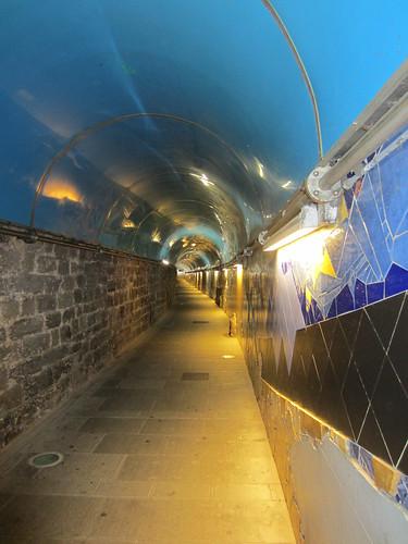 tunnel in riomaggiore