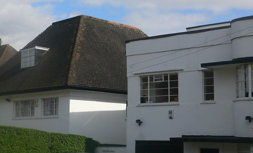 Hampstead Garden Suburb - art deco meets arts and crafts