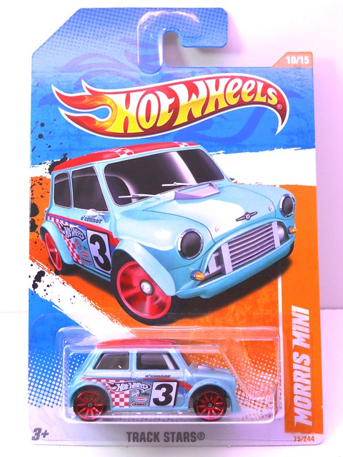 hot wheels morris mini blue (1)