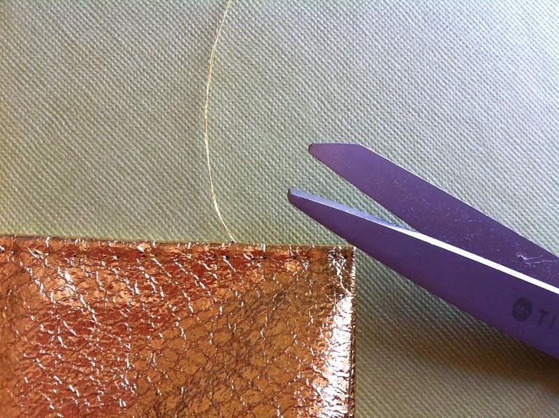 Hidden stitch ends