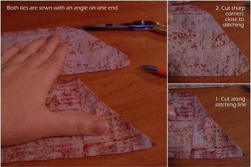 Clipping corners to turn out