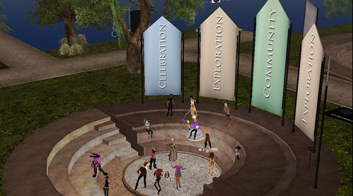 SL9B Greeter Party, photograph by Christopher Organiser