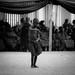 baby dancer at the Ashanti funeral in kumasi