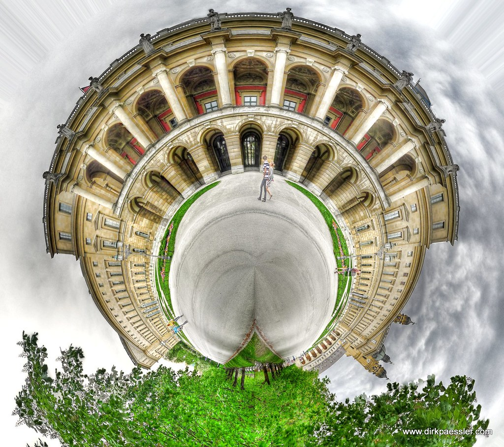 "Planet ""Residenz München"" by Dirk Paessler"