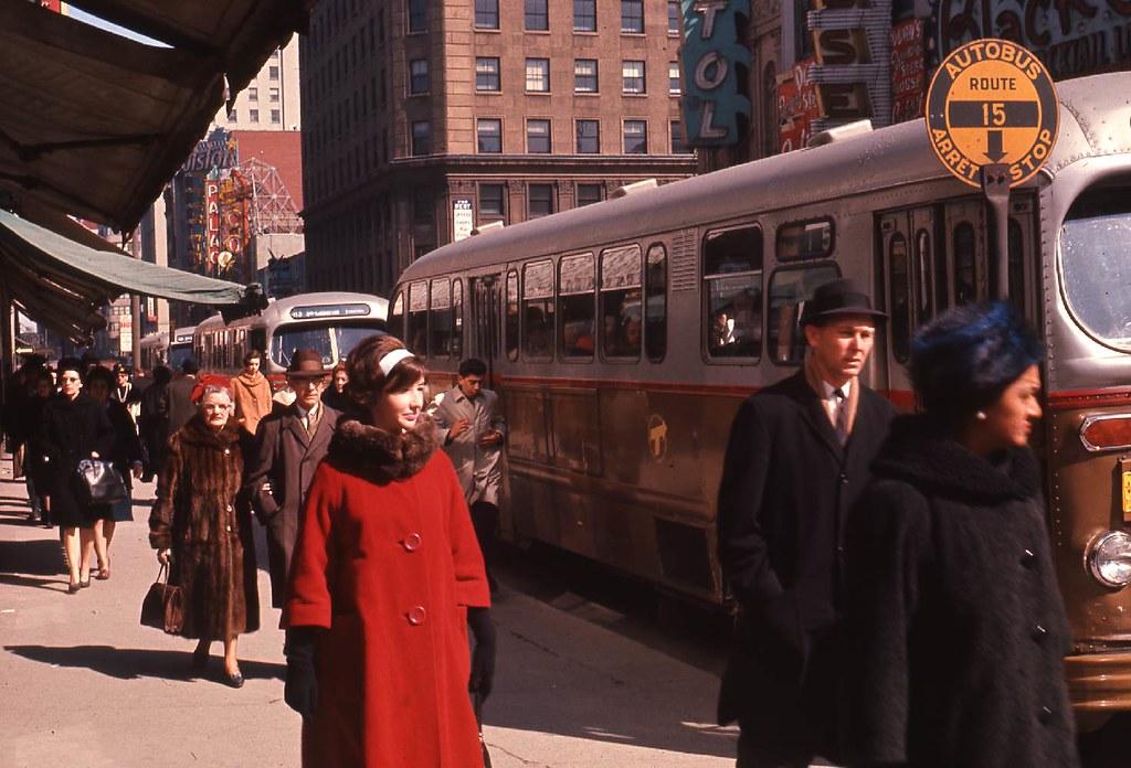Rue Sainte-Catherine, 1964
