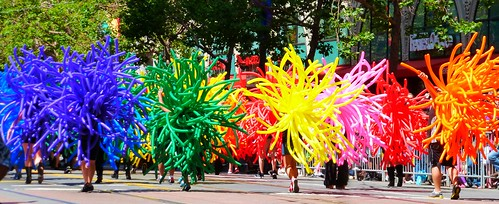 The Balloon People by dyannaanfang