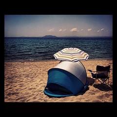 Beach bivouac