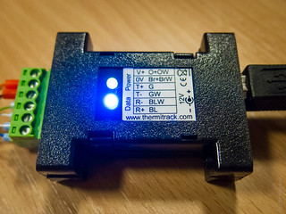Thermitrack interface