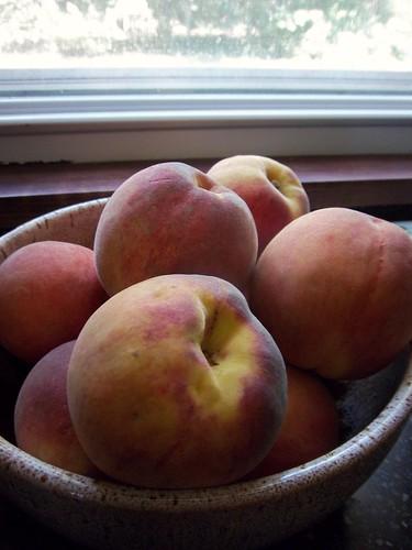 Oklahoma peaches!