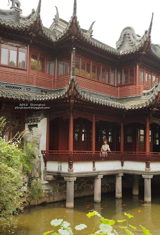 ▌上海 ▌ 豫園 ‧ 長長的人龍關在大蒸籠
