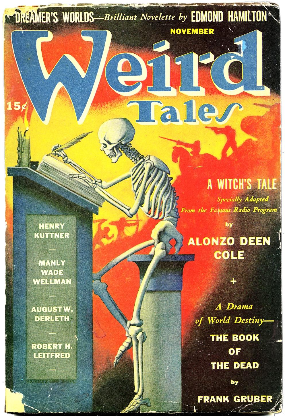 Weird Tales Hannes Boc