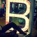 b lights