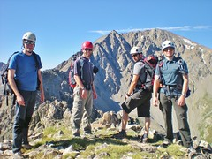 CMC Climbers on Ellingwood Ridge