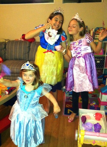 tea party with the princesses