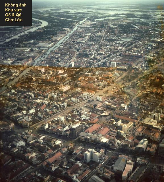 Saigon Aerial View - Không ảnh Khu vực Q5-Q6 Cholon