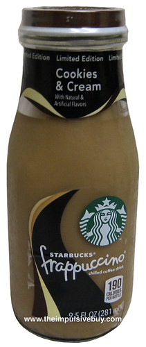 Limited Edition Starbucks Cookies & Cream Frappuccino