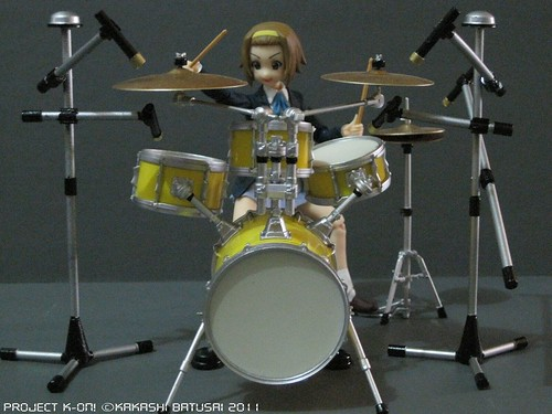Project K-ON! Live Concert Stage Diorama by Kakashi Batusai - Figma -gundamph (16)