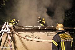 Feuer Kleintierzuchtverein Klarenthal 29.07.12