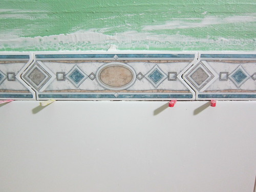 Feature border thingy in the laundry/bathroom
