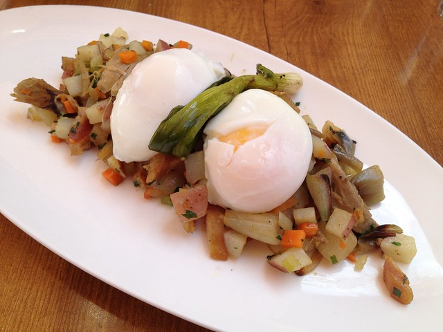 Duck confit and potato hash - The Girl & The Fig